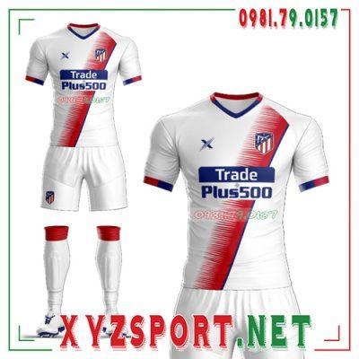 Áo CLB Atletico Tự Thiết Kế Mã ALT-03 Màu Trắng 6