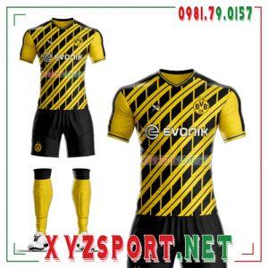 Áo CLB Dortmund Tự Thiết Kế Mã DOR-03 Màu Vàng Đen 4
