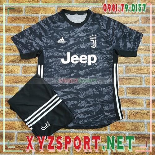 Áo CLB Juventus 2020 Sân Khách 3 Màu Trắng Đen 3