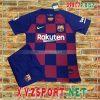 Áo CLB Barca 2020 Sân Nhà Màu Đỏ Xanh 11