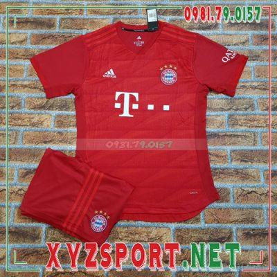 Áo CLB Bayern 2020 Sân Nhà Màu Đỏ 8