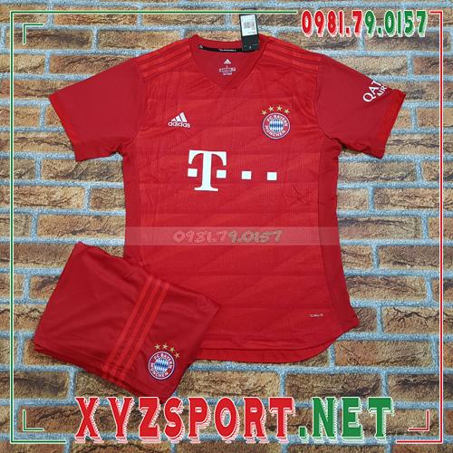 Áo CLB Bayern 2020 Sân Nhà Màu Đỏ 1