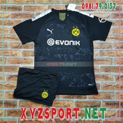 Áo CLB Dortmund 2020 Sân Khách Màu Đen 8