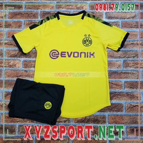 Áo CLB Dortmund 2020 Sân Khách Màu Đen 2