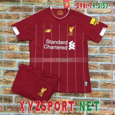Áo CLB Liverpool 2020 Sân Nhà Màu Đỏ 8
