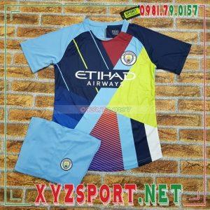 Áo CLB Man City 2020 Sân Khách 2 Màu Vàng Hồng 5