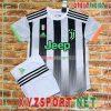 Áo CLB Juventus 2020 Sân Khách 3 Màu Trắng Đen 11