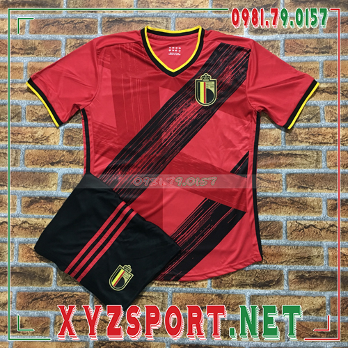Áo Đội Tuyển Bỉ 2020 Sân Nhà Màu Đỏ 1