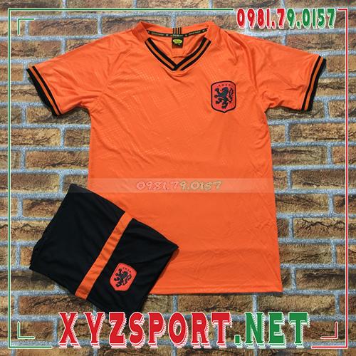 Áo Đội Tuyển Hà Lan 2020 Training 3 Màu Cam 1