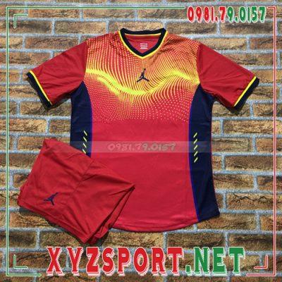 Áo Không Logo Jordan XPH01 Bevis Màu Đỏ 8