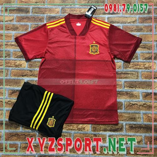 Áo Đội Tuyển Tây Ban Nha 2020 Sân Nhà Màu Đỏ 1