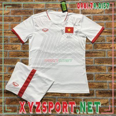 Áo Đội Tuyển Việt Nam 2020 Sân Khách Màu Trắng 8