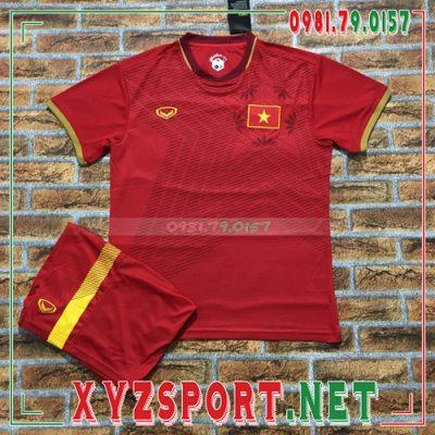 Áo Đội Tuyển Việt Nam 2020 Sân Nhà Màu Đỏ 8