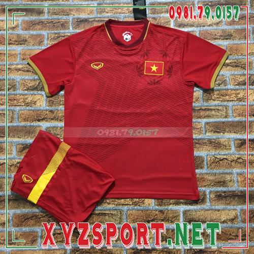 Áo Đội Tuyển Việt Nam 2020 Sân Nhà Màu Đỏ 1