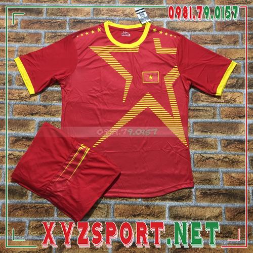 Áo Đội Tuyển Việt Nam 2020 Training 12 Màu Đỏ 1