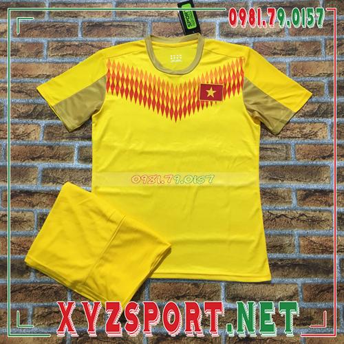 Áo Đội Tuyển Việt Nam 2020 Training 13 Màu Vàng 1