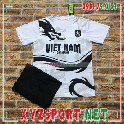 Áo Đội Tuyển Việt Nam 2020 Training 4 Màu Trắng 6