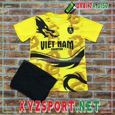 Áo Đội Tuyển Việt Nam 2020 Training 5 Màu Vàng 6