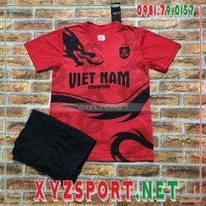 Áo Đội Tuyển Việt Nam 2020 Training 12 Màu Đỏ 5
