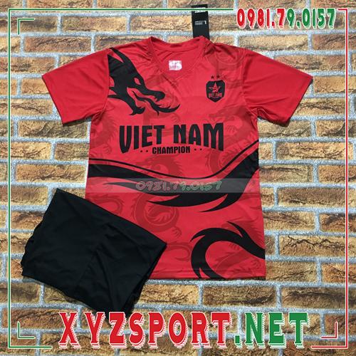 Áo Đội Tuyển Việt Nam 2020 Training 12 Màu Đỏ 3