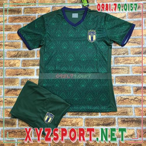 Áo Đội Tuyển Ý 2020 Sân Khách Màu Trắng 2