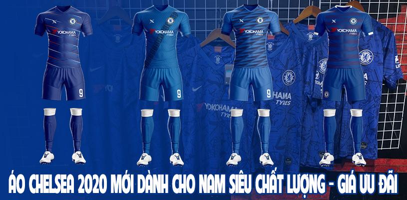Áo Chelsea 2020 mới dành cho nam siêu chất lượng, giá ưu đãi 1