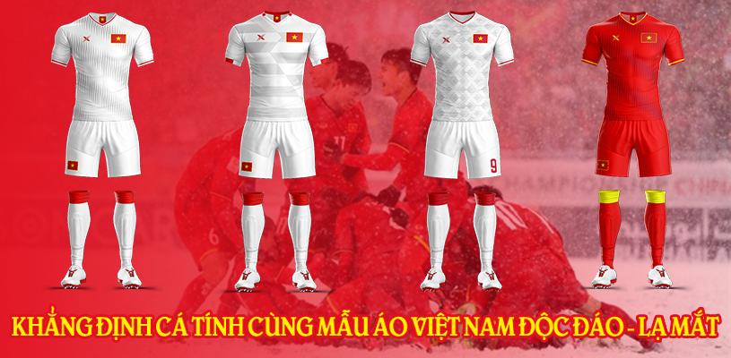 Khẳng định cá tính cùng mẫu áo đội tuyển Việt Nam độc đáo, lạ mắt 1