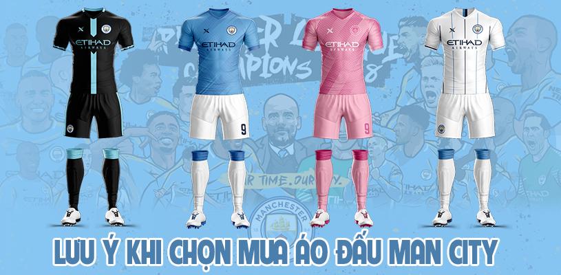 Lưu ý khi chọn mua áo đấu Man City đẹp và độc năm 2020 4