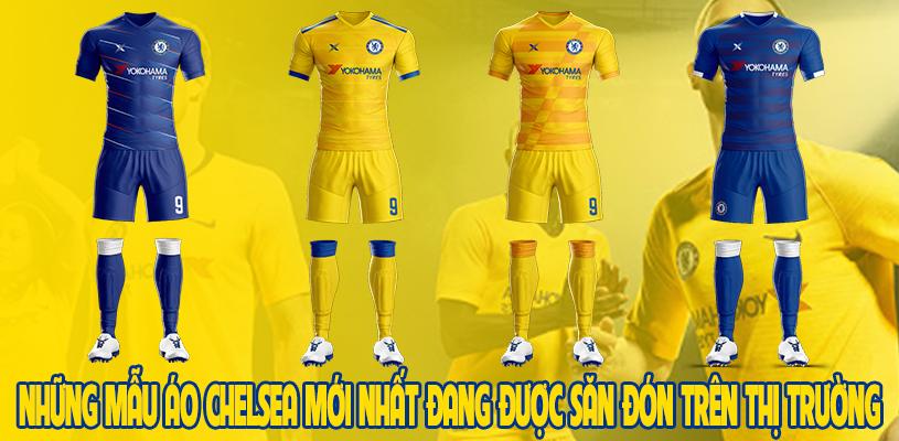 Những mẫu áo Chelsea mới nhất đang được săn đón trên thị trường 1