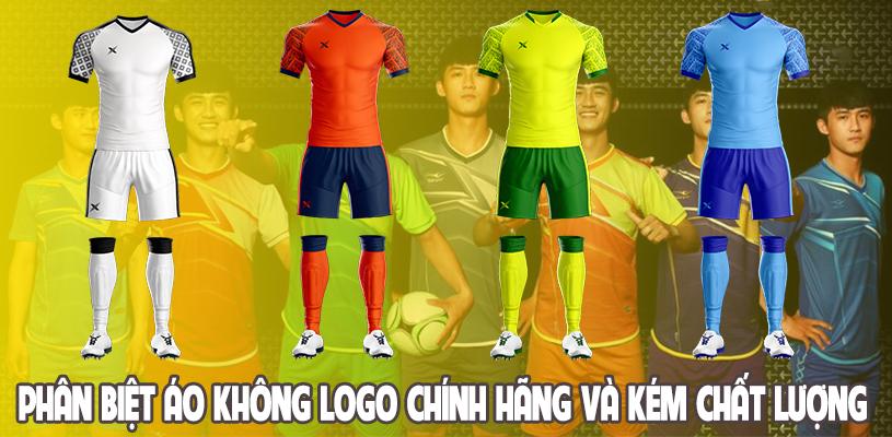 Phân biệt áo đấu không logo chính hãng và áo đấu kém chất lượng 8