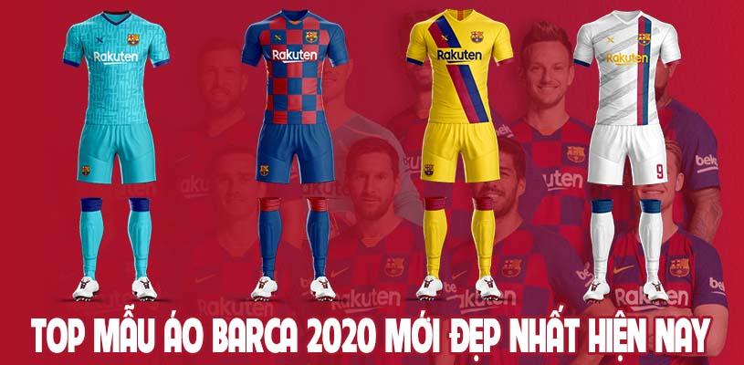 Top mẫu áo Barca 2020 mới đẹp nhất hiện nay 1