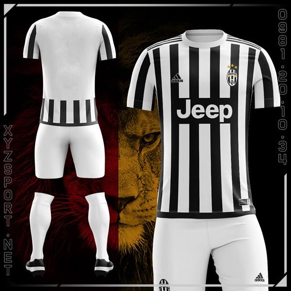 Mẫu Áo Juventus Sân Nhà Mùa Giải 2015-2016