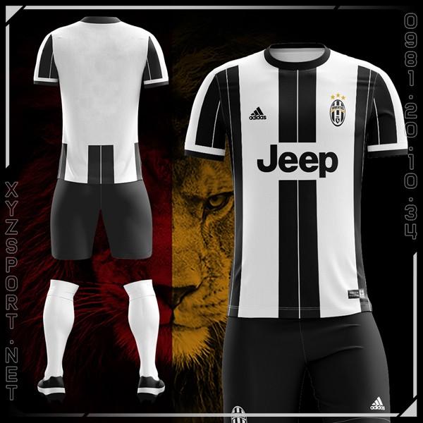 Mẫu Áo Juventus Sân Nhà Mùa Giải 2016-2017