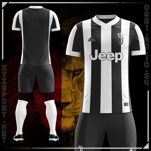 Mẫu Áo Juventus Sân Nhà Mùa Giải 2017-2018