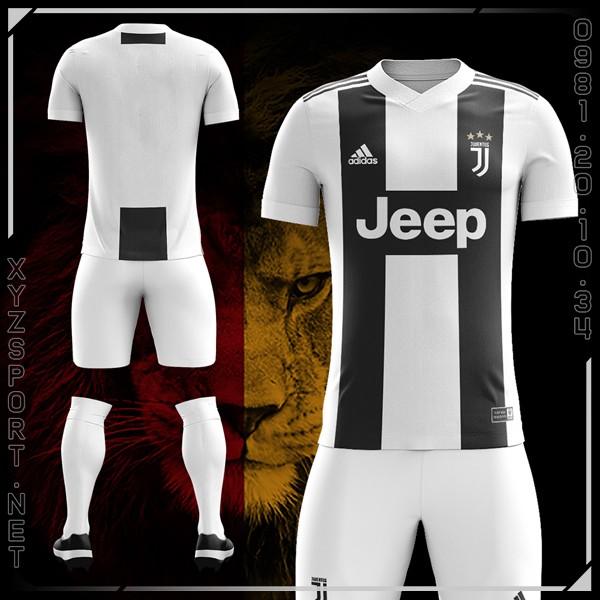 Mẫu Áo Juventus Sân Nhà Mùa Giải 2018-2019